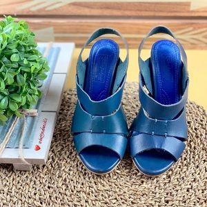Zara Slingback Heels, Size 6 or 36